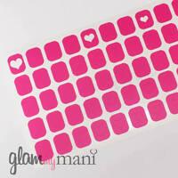 Heart Nail Vinyl Nail Stickers Designs Diy Nail Art 100 Count