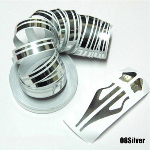 Double Line Tape Car Decal Striping Pin Stripe Steamline Vinyl Sticker #SS /&A