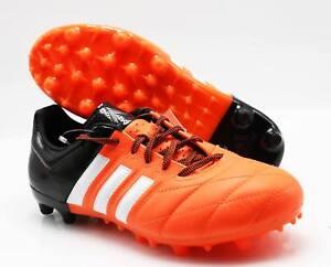 38cbc1b2a7da0d adidas Fußballschuhe B32812 Ace 15.3 FG AG Leder orange schwarz (7 ...