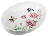 Lenox Butterfly Meadow Fine Porcelain Oval Baker , New, Free Shipping on sale
