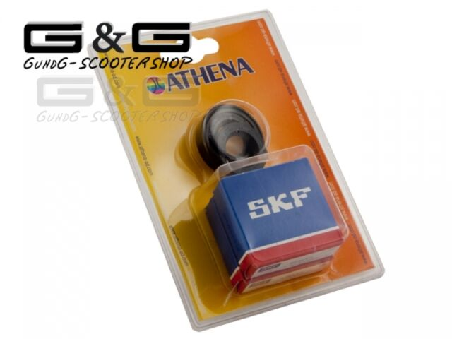 Crankshaft Bearing Set SKF C4 for Minarelli Aprilia Benelli Beta Cpi Yamaha Mbk