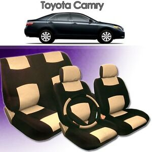2001 2002 2003 2004 for toyota camry pu leather seat cover ebay. Black Bedroom Furniture Sets. Home Design Ideas