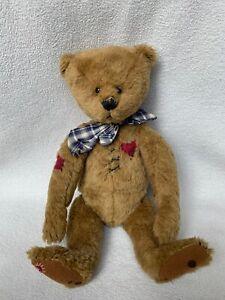 Ganz Cottage Collectibles Mattie Cc147 Teddy Bear Lorraine Jointed Tags Unique Ebay