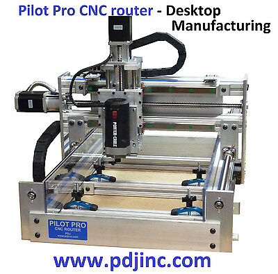 PDJ - CNC router plans kit milling machine plasma rapid prototyping projects DVD