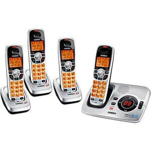 UNIDEN-6-0-DIGITAL-CORDLESS-PHONE-DECT-2035-3-ANS-MACHINE-INCLUDES-4-HANDSETS