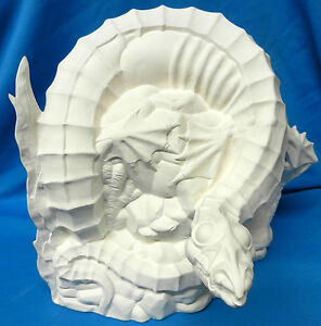 Sea dragon ceramic bisque u paint for Ceramic based paint