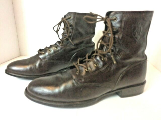 Ariat Heritage Women's Brown Leather Cowboy Boots - Size 8.5B