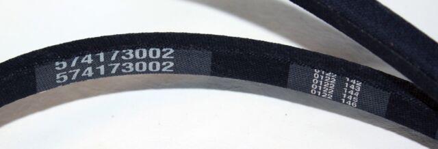 """Poulon V-Belt 574173002 RZ 3016 301ZX Deck Drive 1//2/"""" x 100/"""" OEM Husqvarna"""