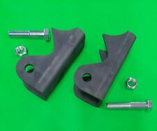 Axle Weld On Shock Mount Brackets Extended Reach Style Jeep YJ w/ bolts & nuts