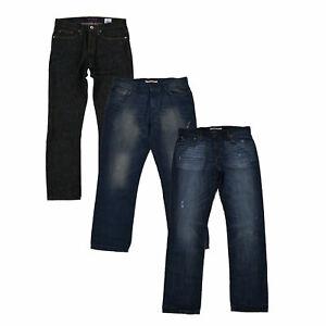 Tommy Hilfiger Para Hombre Jeans Pantalones De Mezclilla Calce Ajustado Recto Pantalones Bolsillos Nuevo Nuevo Con Etiquetas Ebay