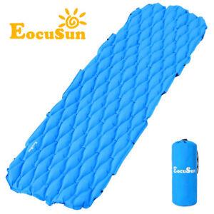 Inflatable-Sleeping-Pad-Air-Mattress-Sofa-Bed-Mat-Yoga-Cushion-Camping-Hiking-SL