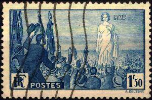 Francia - 1936 - Raduno Internazionale Per La Pace Nouveau Design (En);