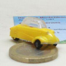 1//87 Busch Messerschmitt Kabinenroller Wettenberg Krofdorf-Gleiberg hellgelb