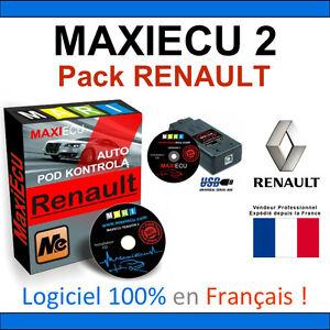 maxiecu 2 mpm com valise diagnostic renault can clip autocom delphi ebay. Black Bedroom Furniture Sets. Home Design Ideas