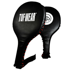 Tuf Wear Boxing Fitness Training Coaching Paddle Black