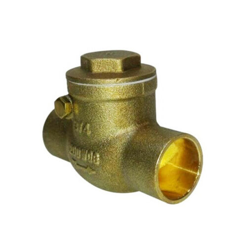 1-1/2 Brass Swing Check Valve Lead Free C x C Sweat Ends