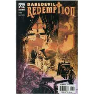 Daredevil-Redemption-4-in-Very-Fine-condition-Marvel-comics-pe