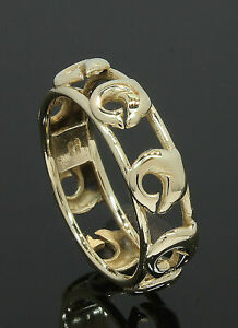 9-Carat-Yellow-Gold-Dolphin-Ring-Size-M-9CT-80-18-663