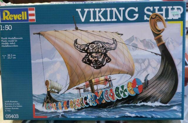 Ships & Submarine Kits Toys & Games Revell of Germany Viking Ship ...
