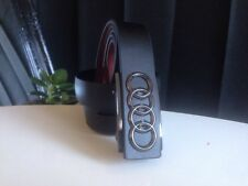 Classic Business Belt Audi Leather Automatic Buckle  For Men
