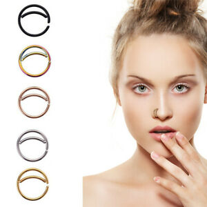 5-PCS-Stainless-Steel-Moon-Nose-Ring-Hoop-Nose-Piercing-Ring-Septum-Body-Jewelry