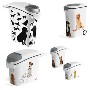 Pet Food Container Storage Box Cats Dogs Animals Litter 20kg 10kg