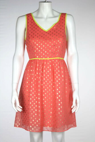 Romeo & Juliet Couture Dress Size S Coral Sheath A