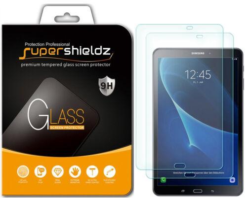 2x Supershieldz Samsung Galaxy Tab A 10.1 Tempered Glass Screen Protector 2016