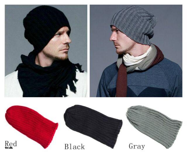 New Unisex Men Women Boy Hip-Hop Warm Winter Wool Knit Ski Beanie Skull Cap Hat