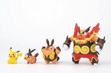 Pokemon Plastic Model Kit Tepig - Chaoboo - Enbuoh - Pikachu PokePlamo 15 Bandai