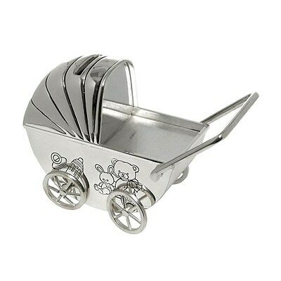 CHRISTENING PRESENT SILVER PLATED GIFT BABY BOY GIRL MONEY BOX KEEPSAKE NEW