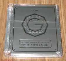 G-DRAGON BIGBANG 2013 World Tour Live CD ONE OF A KIND IN SEOUL SILVER VERSION