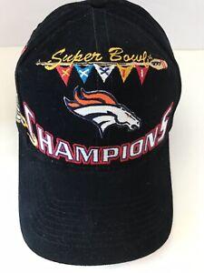9b947525 Details about RARE VINTAGE NFL DENVER BRONCOS SUPER BOWL XXXII CHAMPIONS  HAT CAP Logo Athletic