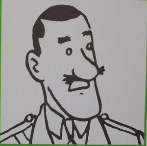 HERGE-d-039-apres-TINTIN-personnages-8-3-Lithographies-EXLIBRIS-2011