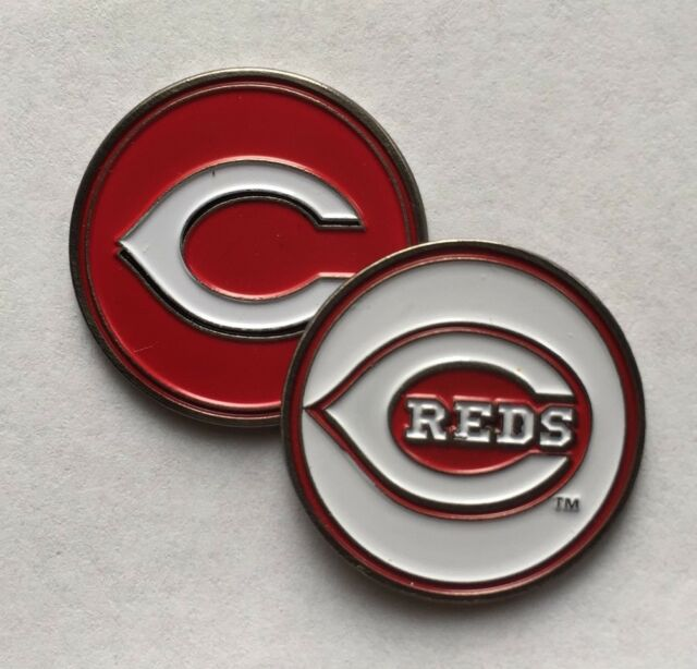672c6b3b9df New MLB Cincinnati Reds Golf Ball Marker