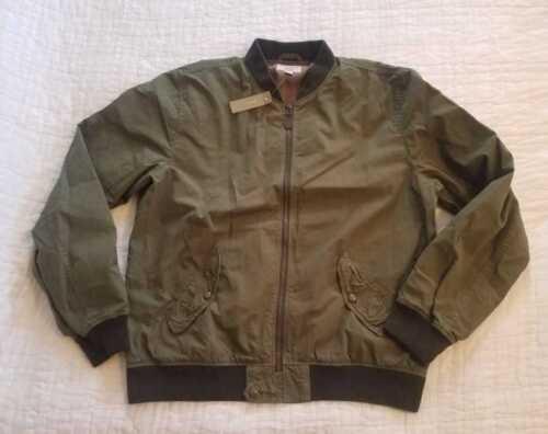 de prendas Wallace vestir algodón 1 J Nueva bombardero de algodón Barnes Ma de chaqueta de teñido con HRHpyUCX