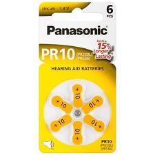 18x Panasonic Worldwide PR10 Hörgerätebatterien 24610 PR230L 1,4V