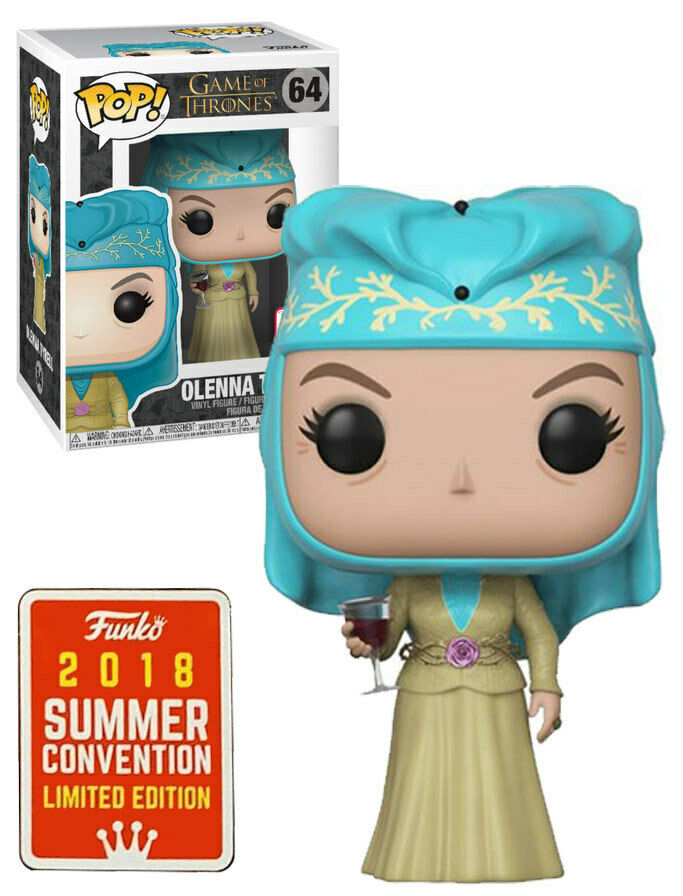 OLENNA Tyrell Funko POP HBO Game of Thrones SDCC Diana Rigg GOT 64 Figur Statue
