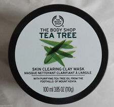 LOWEST PRICE! The Body Shop TEA TREE FACE CLAY MASK 100ml 3.85 oz 24H FAST SHIP