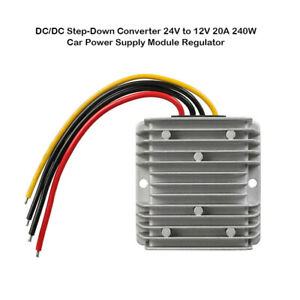 DC-DC-24V-to-12V-Step-Down-20A-240W-Converter-Car-Power-Supply-DC-module-UK