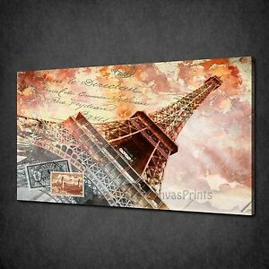 VINTAGE PARIS EIFFEL TOWER POSTCARD BOX CANVAS PRINT WALL ART PICTURE - HARROW, United Kingdom - CANCELATION / RETURN a) FAULTY/DAMAGED ITEMS Please EXAMINE PARCEL for any damages at all before signing for. If you don't sign for it as DAMAGED, we won't be able to claim back from the courier and send the replacement. If the pr - HARROW, United Kingdom