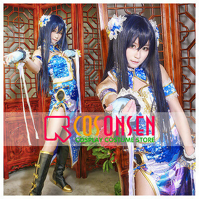 Cosonsen Love Live Umi Sonoda Cheongsam Cosplay Costume All Size Custom Made