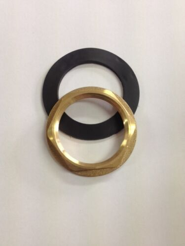 Brass Basin Waste Back Nut And Washer