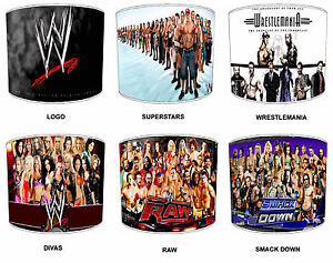 Image Is Loading WWE Lampshades Ideal To Match WWE Duvets Wrestle