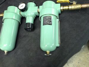 Lincoln-602112-Filter-Regulator-602013-amp-Lubricator-602212-Combo-3-4-034-w-Valve