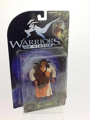 Warriors of Virtue Figurine Willy Beest 1997 Play/'Em