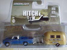 1966 Dodge D-100 mit Airstream 16´Bambi, Greenlight 1:64 lim. Edition, 32030/A