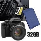 32GB SD 10MB/S Flash Memoria Tarjeta Memory Card Class 10 Para Cámara Digital