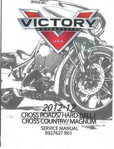 victory cross country 2012 2013 2014 2015 2016 2017 service manual rh ebay com victory cross country tour service manual 2015 victory cross country tour service manual