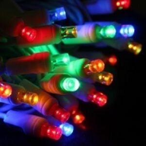 Led Christmas Lights Color.Details About 70 Count 5 Mm Led Christmas Light String Multi Color White Wire